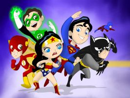 WONDER FRIENDS colors by CThompsonArt