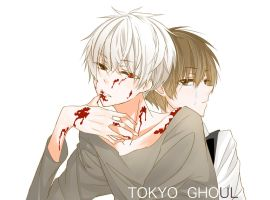 Tokyo Ghoul by s1107017