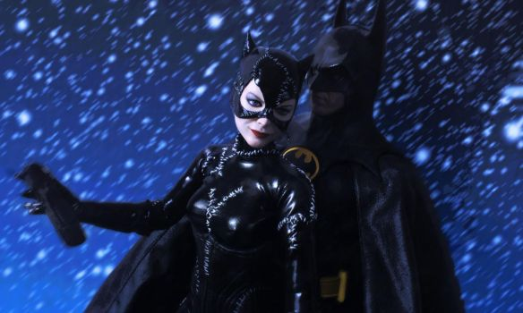 Catwoman in the snow by Sean-Dabbs-fx