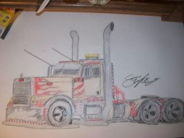2007 Peterbilt Custom Daycab by 18KyBuschfan