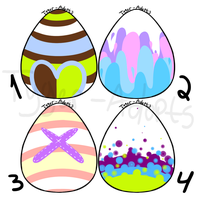 .:Chibi.Adopts:.:Eggs: CLOSED by Tyger-Adopts