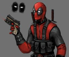 Deadpool redesigned outfit by FonteArt