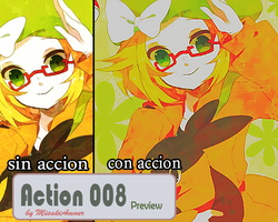 Action 008 by MisakiAmour
