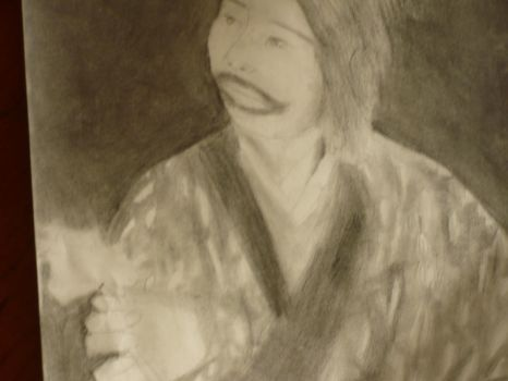 Ainu Woman- Complete Drawing by Book-Dragon211