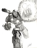 War Machine by LivioRamondelli