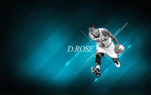Derrick Rose MVP by slkscrn