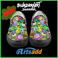 Monster Doodles Women's Shoes by BluedarkArt by Bluedarkat
