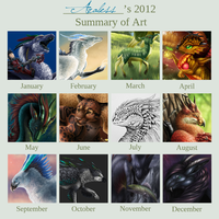 Summery of Art 2012 by Araless