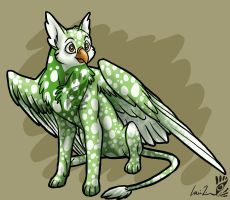 speckled eyrie by louizim