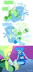 a different kind of gem war by ChaztheWeasel