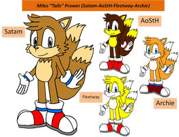 Challenge Picture: Satam Tails Modren Style by FrostTheHobidon