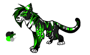 Tiaga123's character design by Aelita-wolf