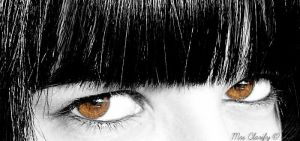 In your brown eyes.. by MrsClarify