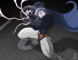 Raven Smash by SeriojaInc