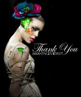 Thank You - 6600 Pageviews by BloodAppleKiss