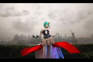 Macross Frontier - Ranka Lee by kirawinter