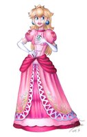 Brawl Peach- without BG by smashsweetie
