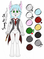 Snowy the Cat - Animatronic Facepainter - Ref by Spartkle