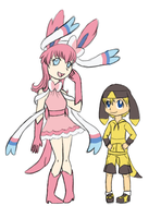 Pokemon Gijinka Gen 6 by HeroineMarielys