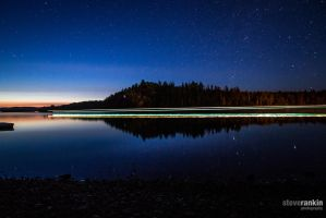 Stars and Passing Boats by steverankin