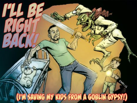 Sal vs. the Gypsy Goblin by Canalus
