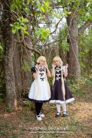 Chise and Chiho:::Florest::: by Witchiko