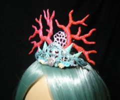 Ocean Empress - handmade Mermaid Crown II by Ganjamira