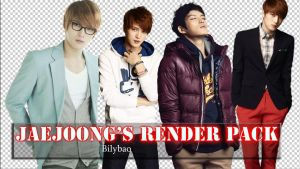 JaeJoong's render pack by BiLyBao