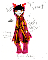 100 ADOPTABLES CHALLENGE- #13 [TYRANT]- AUCTION by MonsterRadio