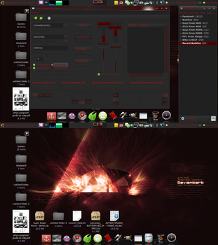 Desktop as of 4.23.10 by SerenadeOmega
