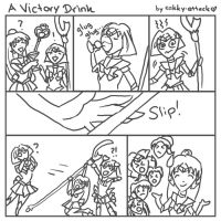 A Victory Drink by sakkysa