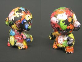 Puzzle Munny by PinkBeads