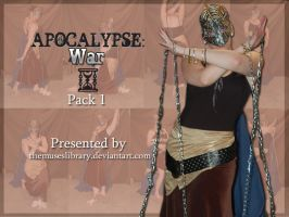 Apocalypse: War PACK 1 by themuseslibrary