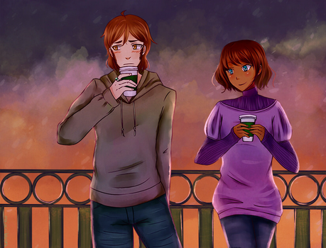 [OCs] I'M Not in Love by maiscribble