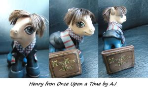 My little pony custom Henry by AmbarJulieta