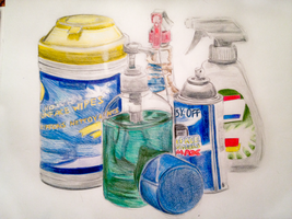 Art Class - Cleaning Supplies by Yangsl
