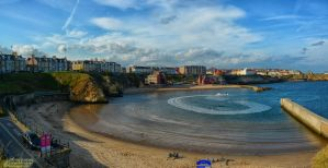 Cullercoats Bay by Rockin-billy
