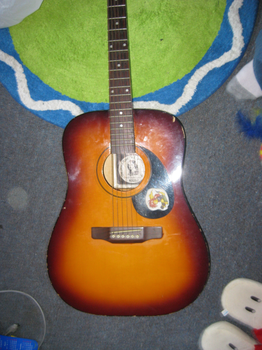 painting-guitar raw materials by not-fun