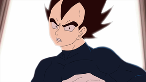 +Vegeta GravityRoom Suprise-ANIMATION+ by Gokuran
