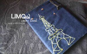 Eiffel - Handmade Cover Book / Binder by LIMOmade