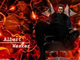 Albert Wesker by DANCE-of-COBRA