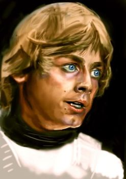 Luke skywalker  by ChristopherChrisps