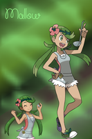 Mallow Pokemon Sun and Moon by PkmnTrainerAshley