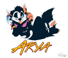 Arya badge - commission by hecatehell