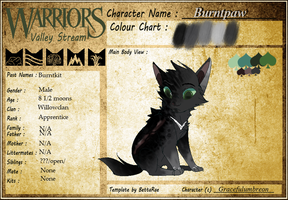 Burntpaw |Application| (edited again) by YHinne