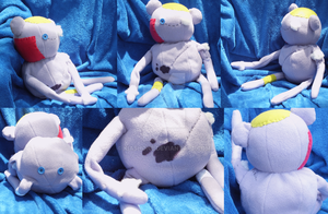'Old' Hambo Plush by kiashone