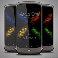 Google Nexus One PSD by Livven
