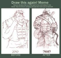 Draw This Again! (my) Meme by Foster-Tony