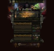 Mists of Pandaria | WebWoW Design by LoomarEvO