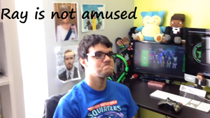 Ray Is Not Amused by Pokemon-Trash